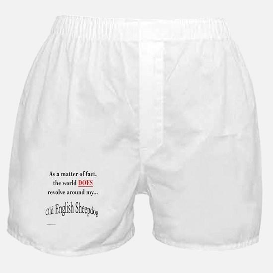 Sheepdog World Boxer Shorts