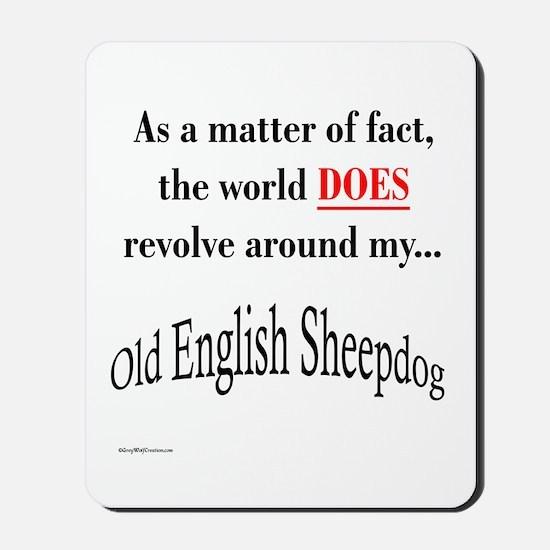 Sheepdog World Mousepad