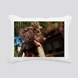 Boykin Spaniel Puppy Rectangular Canvas Pillow