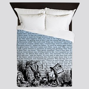 alice-vintage-border_blue_14-333x18v2 Queen Duvet