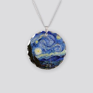 SmPoster VG Starry Necklace Circle Charm
