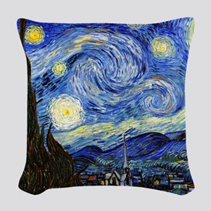 SmPoster VG Starry Woven Throw Pillow