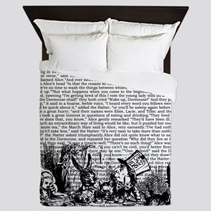 alice-vintage-border_bw_14-333x18v2 Queen Duvet