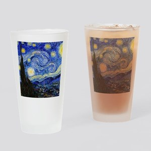 Cal VG Starry Drinking Glass