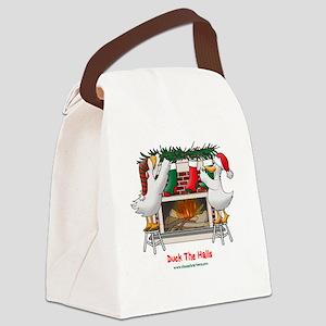 DuckTheHallslt Canvas Lunch Bag