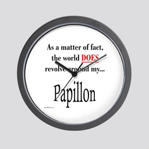 Papillon World Wall Clock