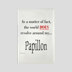 Papillon World Rectangle Magnet