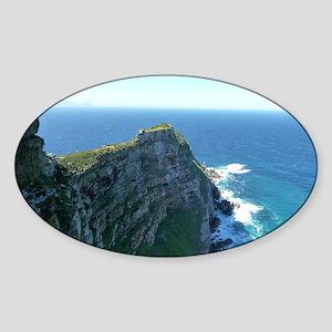 Cape Point Peninsula, Cape Town Sticker (Oval)