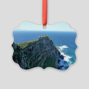 Cape Point Peninsula, Cape Town Picture Ornament