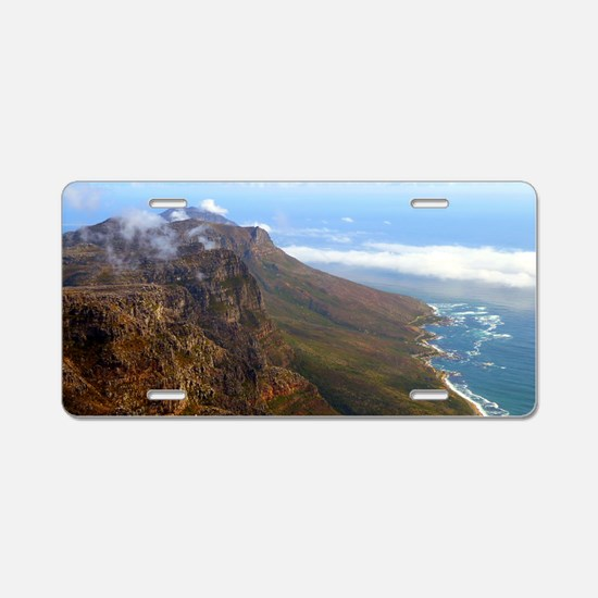 Table Mountain Aluminum License Plate