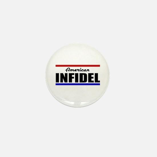American Infidel Mini Button