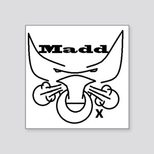 "Madd Ox 2 Square Sticker 3"" x 3"""