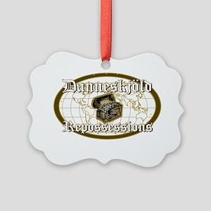 Danneskjold Repossessions Picture Ornament