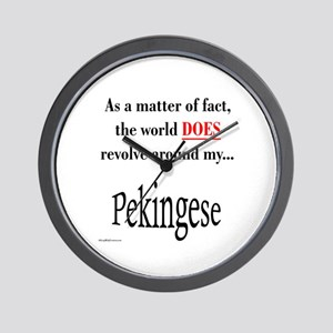 Pekingese World Wall Clock