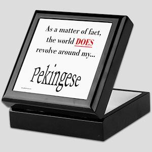 Pekingese World Keepsake Box