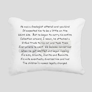 story art geologist 2 U- Rectangular Canvas Pillow