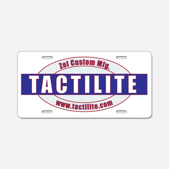 Tactilite Early 60s Mod Aluminum License Plate