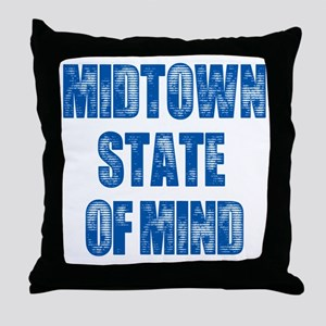 Midtown_StateofMind Throw Pillow