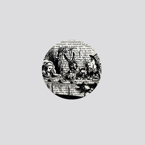 alice-vintage-border_bw_12-5x13-5h Mini Button