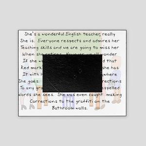 Story art English Teacher Picture Frame