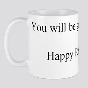 Happy Retirement ENGLISH inside Mug