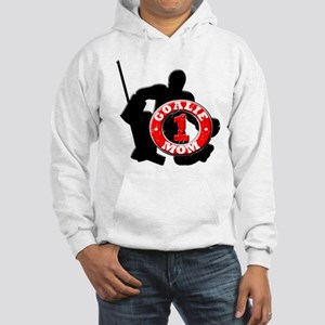 Hockey Goalie Mom #1 Hooded Sweatshirt
