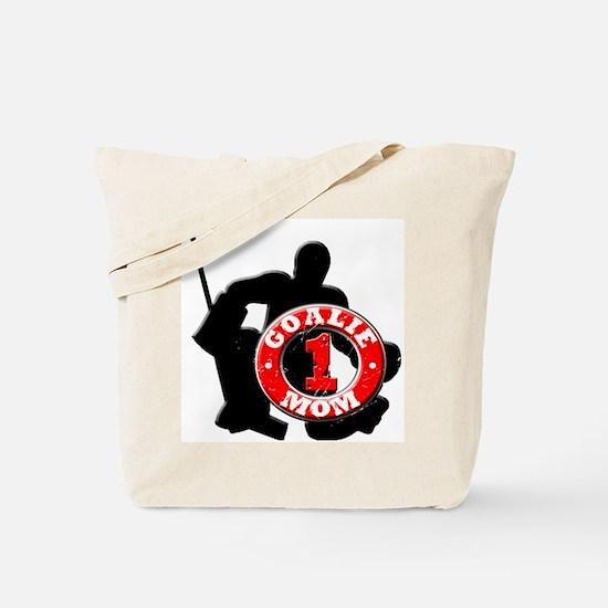 Hockey Goalie Mom #1 Tote Bag