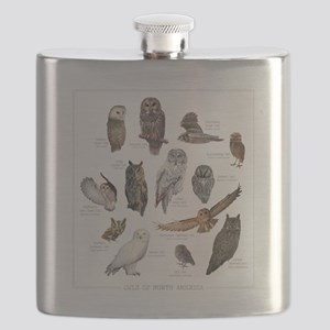 OwlSpecies Flask