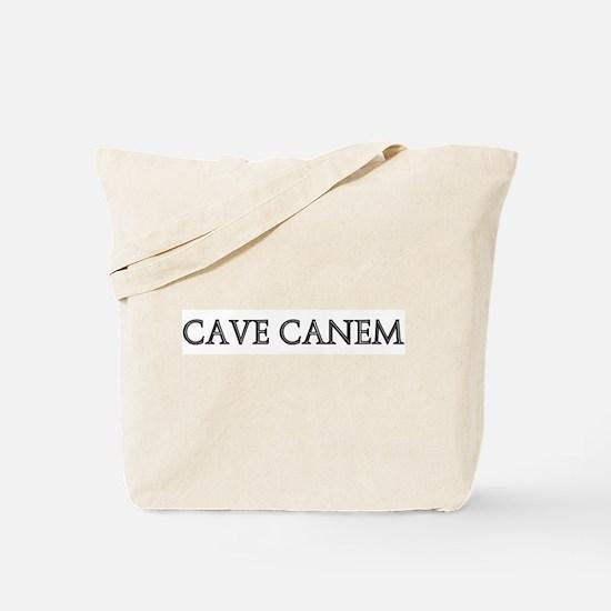 CAVE CANEM Tote Bag