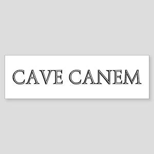 CAVE CANEM Bumper Sticker
