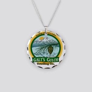 Galts Gulch Tradinc Co - Cir Necklace Circle Charm