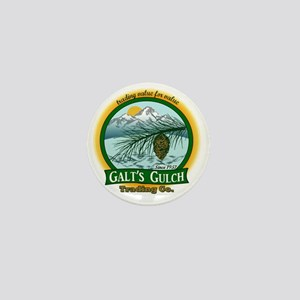 Galts Gulch Tradinc Co - Cirle logo Mini Button
