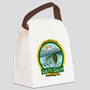 Galts Gulch Tradinc Co - Cirle lo Canvas Lunch Bag