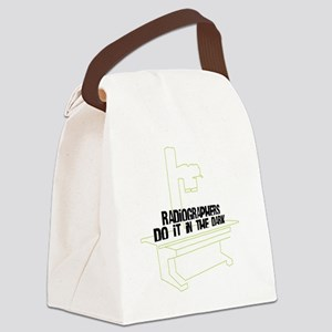 (XL) Radiographers Do It In the D Canvas Lunch Bag