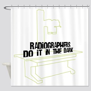 (XL) Radiographers Do It In the Dar Shower Curtain