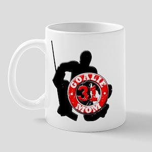 Hockey Goalie Mom #31 Mug