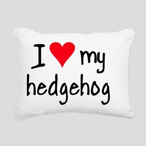 ihearthedgehog Rectangular Canvas Pillow