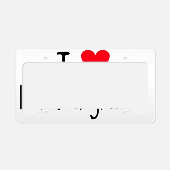 ihearthummingbirds License Plate Holder