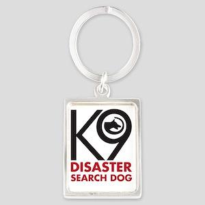 SearchDog Portrait Keychain