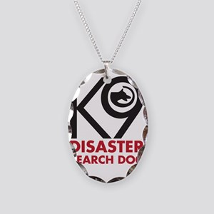 SearchDog Necklace Oval Charm