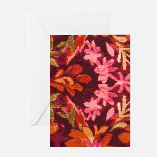 Tapestry Rust Greeting Card