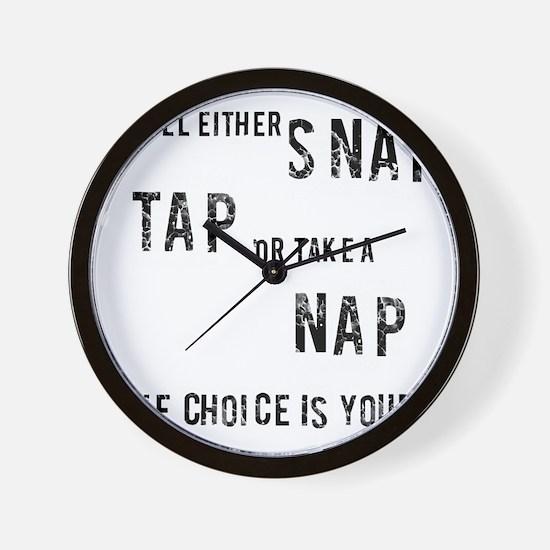 TAP Wall Clock