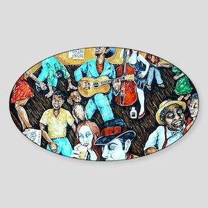 jookin2 Sticker (Oval)