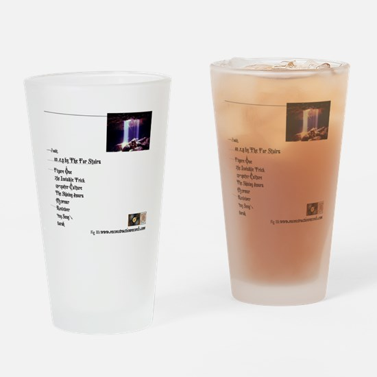 DshirtBack Drinking Glass