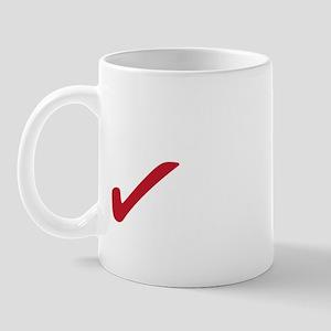 NoBCSback2white Mug