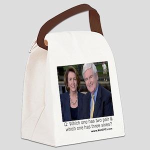 newtnnancy Canvas Lunch Bag