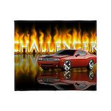 Challenger Fleece Blankets
