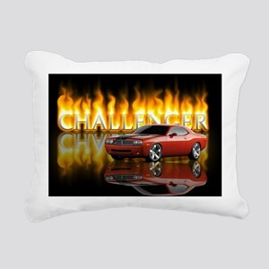 dodge chall Rectangular Canvas Pillow