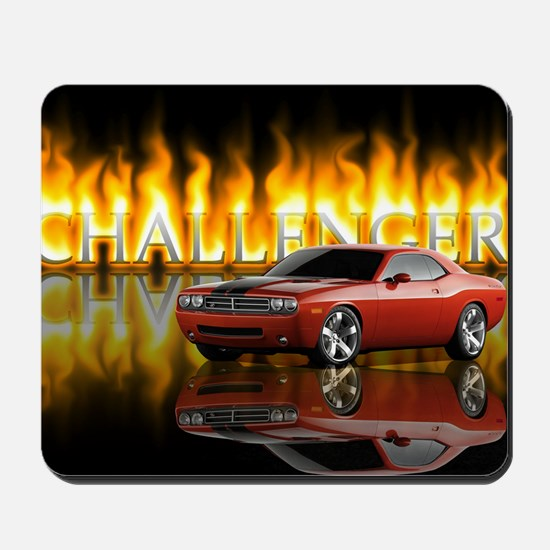 dodge chall Mousepad