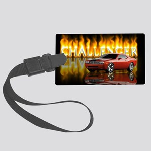 dodge chall Large Luggage Tag